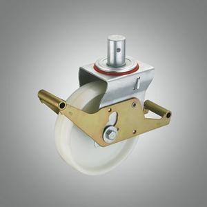 European Scaffold Castor Series - PA Solid Stem Caster - Wrap Around Brake
