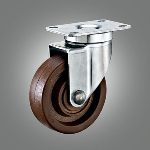 280℃ High Temperature Caster Series - Medium Duty Top Plate Caster - Swivel