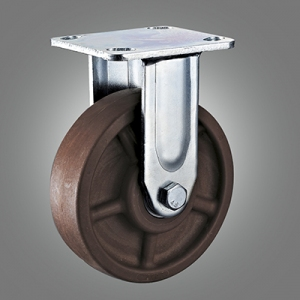 280℃ High Temperature Caster Series - Heavy Duty Top Plate Caster - Rigid