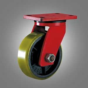 Extra Heavy Duty Caster Series - PU Top Plate Caster - Swivel