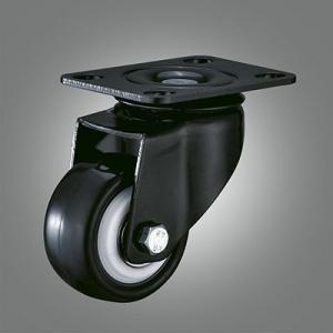 Small Jinzuan Caster Series - PU Top Plate Caster - Swivel