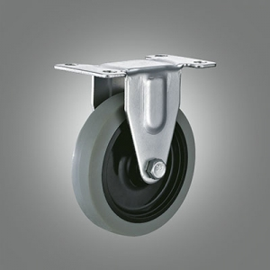 Light Duty Caster Series - TPR Top Plate Caster - Rigid