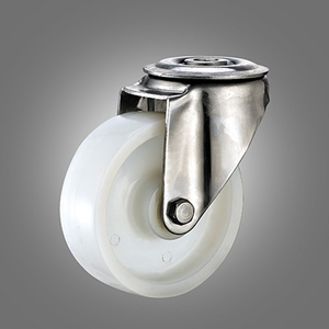 Stainless Steel Caster Series - European Industrial PA Hollow Rivet Caster - Swivel